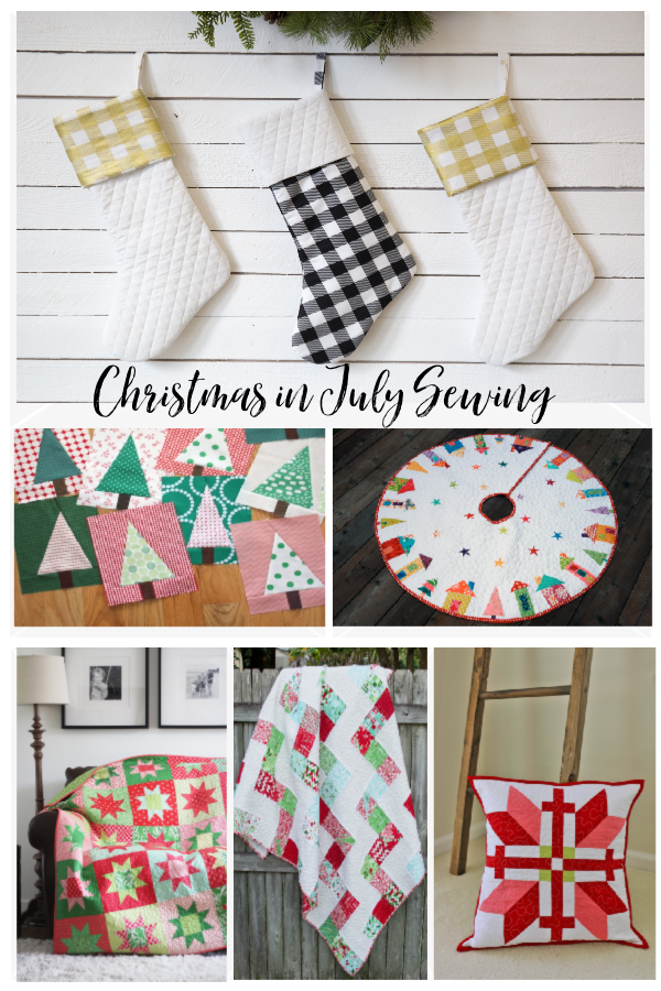 Christmas in July Sewing Round Up