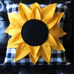 Sunflower Pillow Pattern