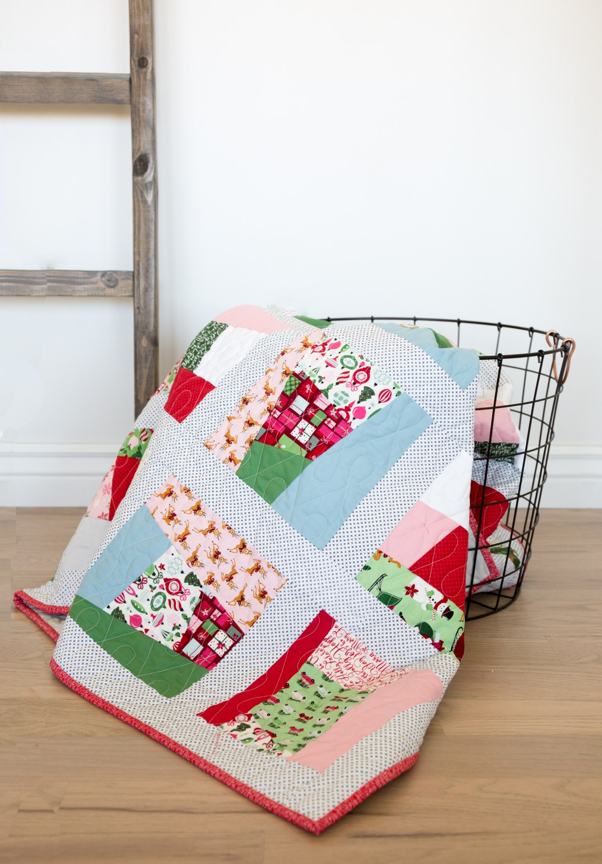 Simple Christmas Quilt Pattern