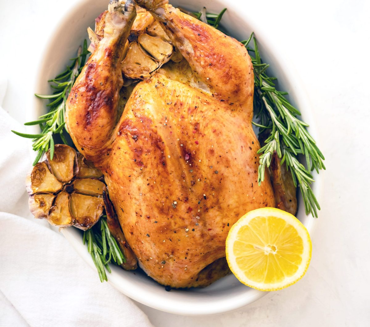 Low Carb Lemon Rosemary Chicken