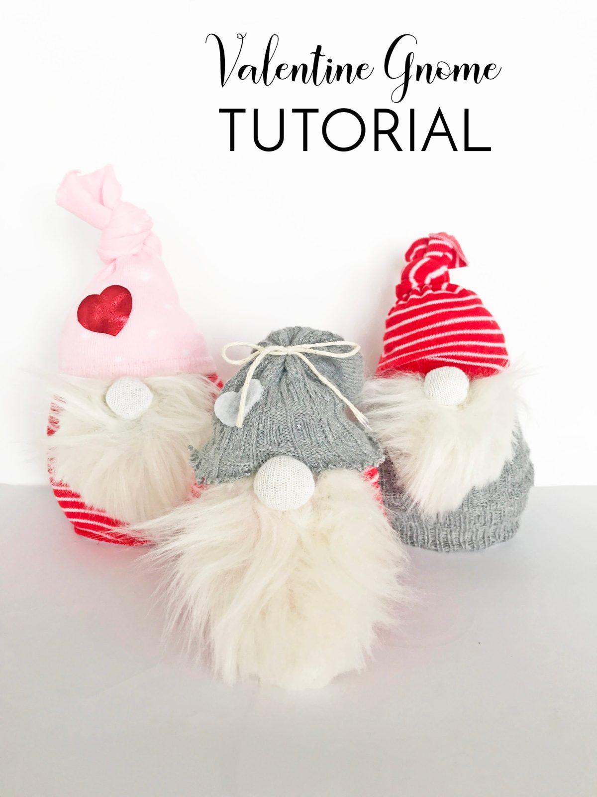 Valentine Gnome Tutorial 1