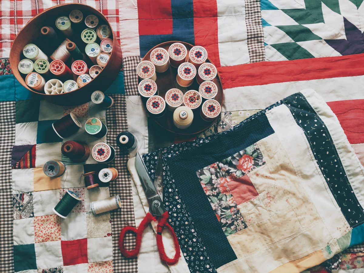 Repairing Vintage Quilt Tops