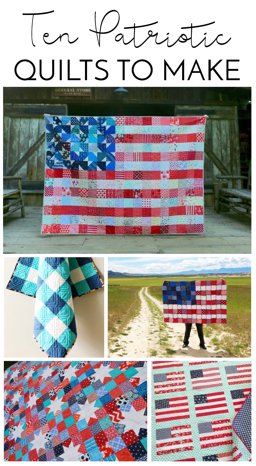10 Patriotic Quilts to Make