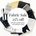 September Sewing Sale