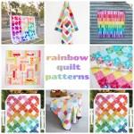 13 Rainbow Quilt Patterns