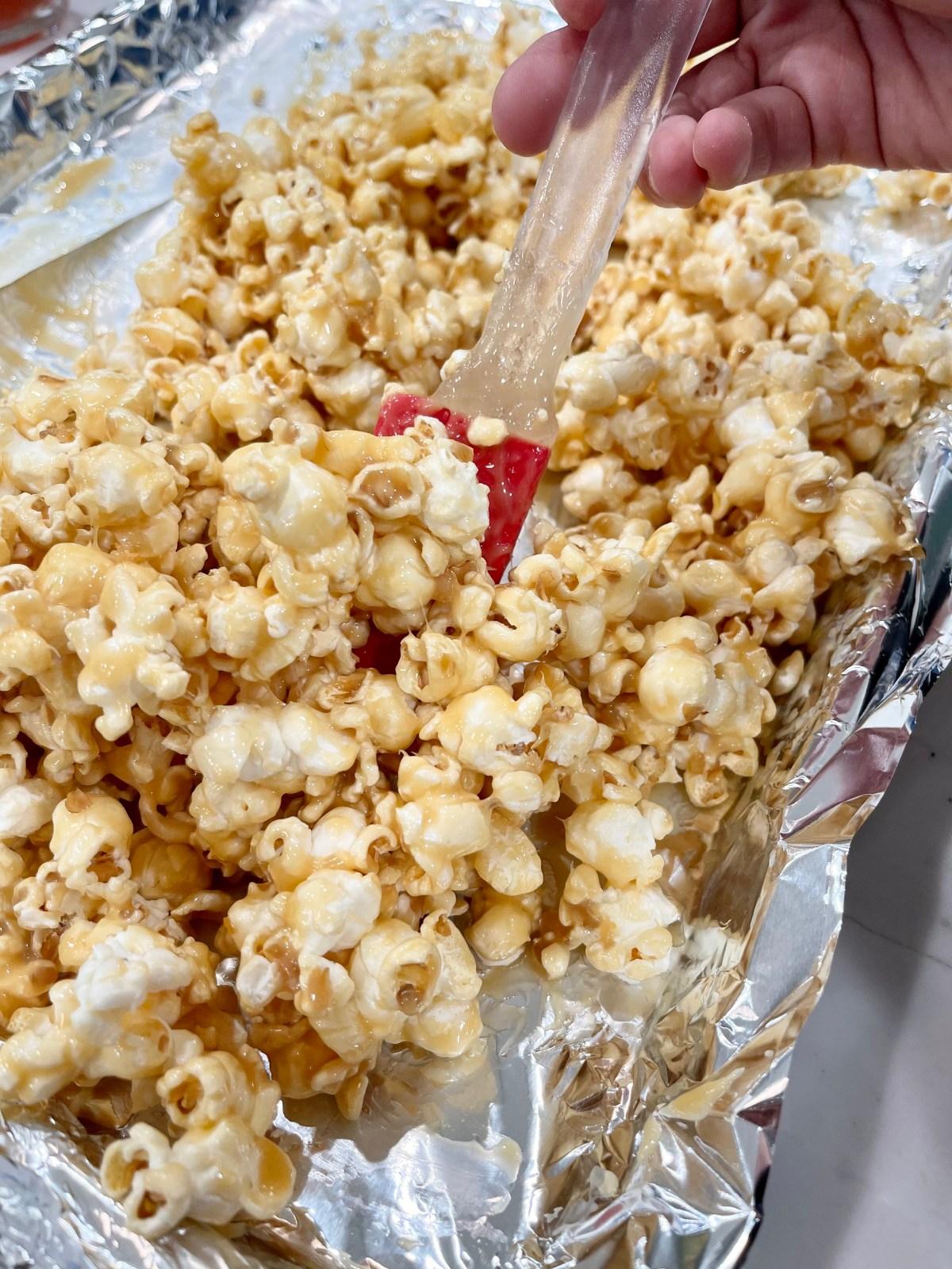 Soft Caramel Popcorn Recipe