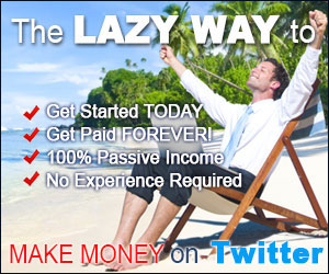 How To Make Money On Twitter - The Lazy Way