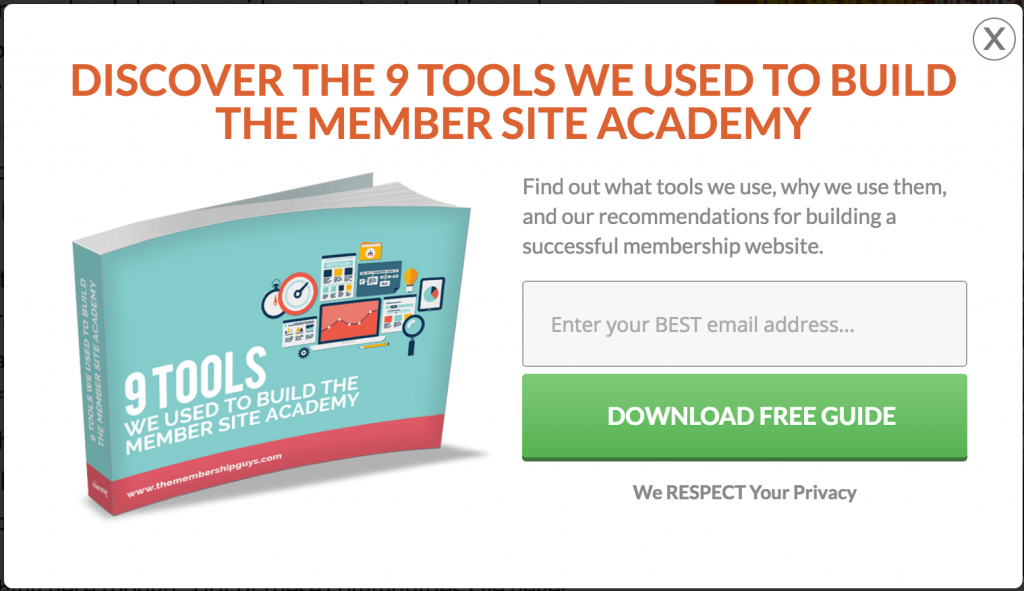 tools and resources lead magnet