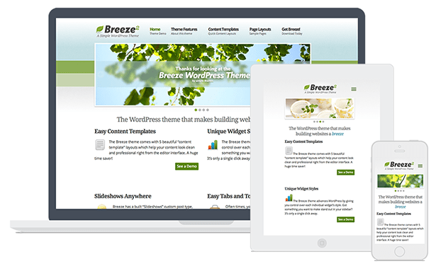 Breeze WordPress Theme