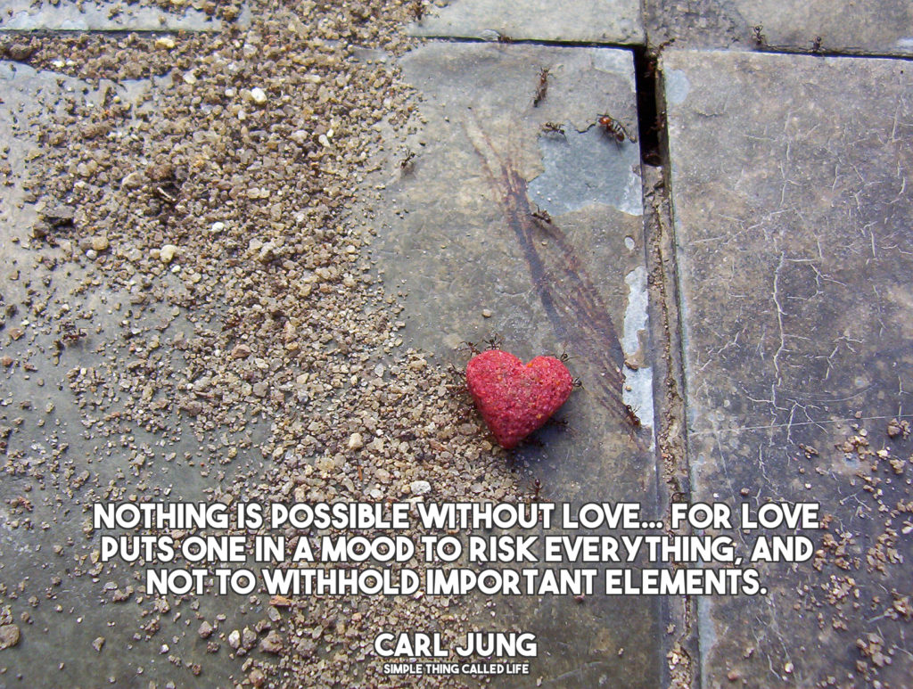 Love Jung Carl Quotes