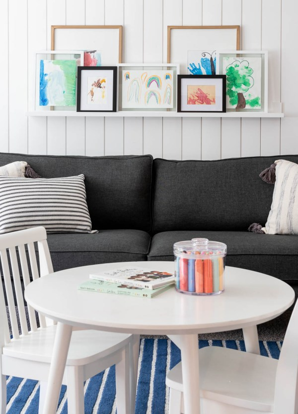 A Casual & Modern Playroom Reveal