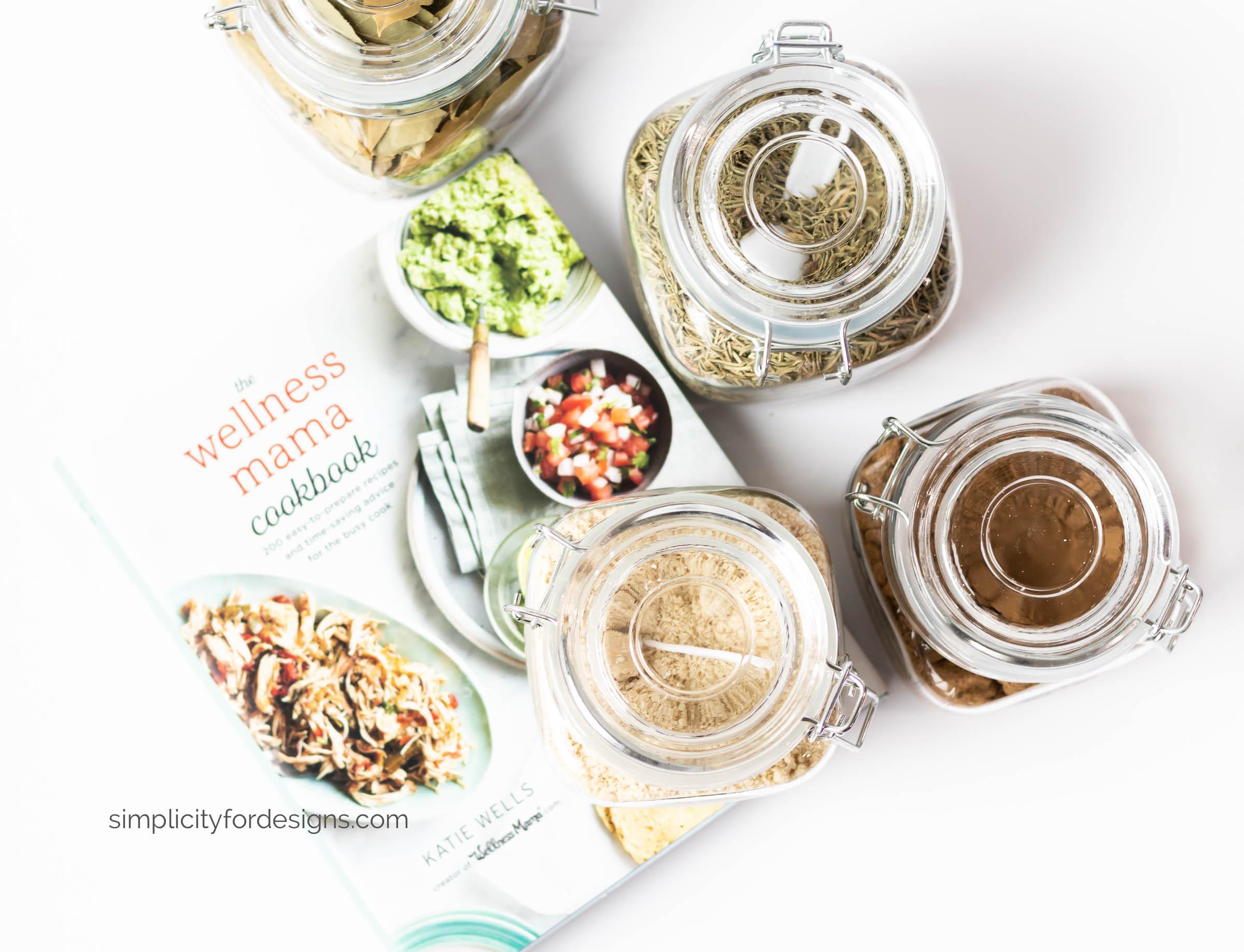 spice jars storage for bulk spices