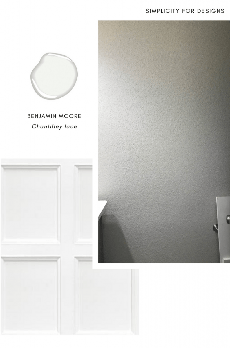 recessed panel designs for textured walls