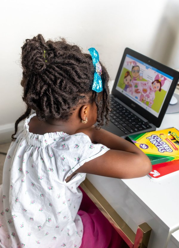 5 Tips For Virtual Learning With Your Little Ones