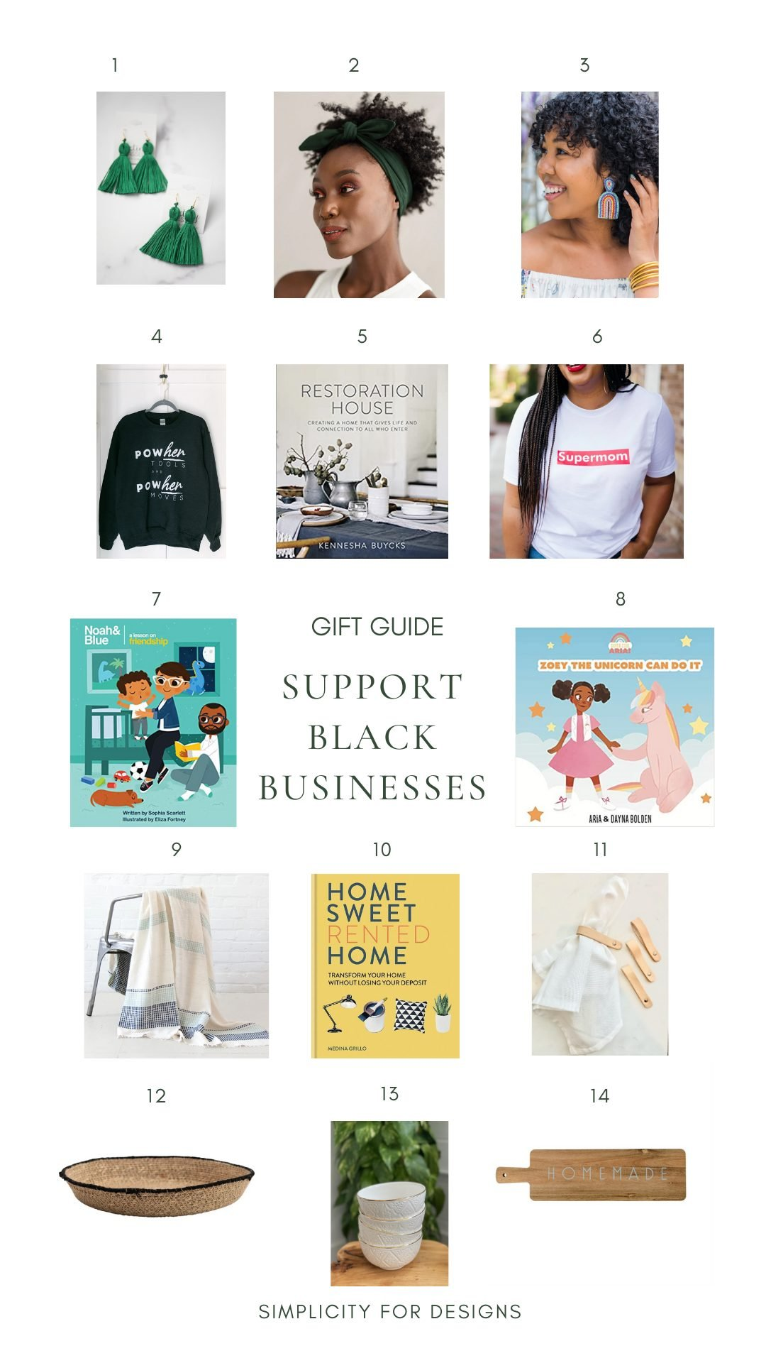 holiday gift guide support black businesses