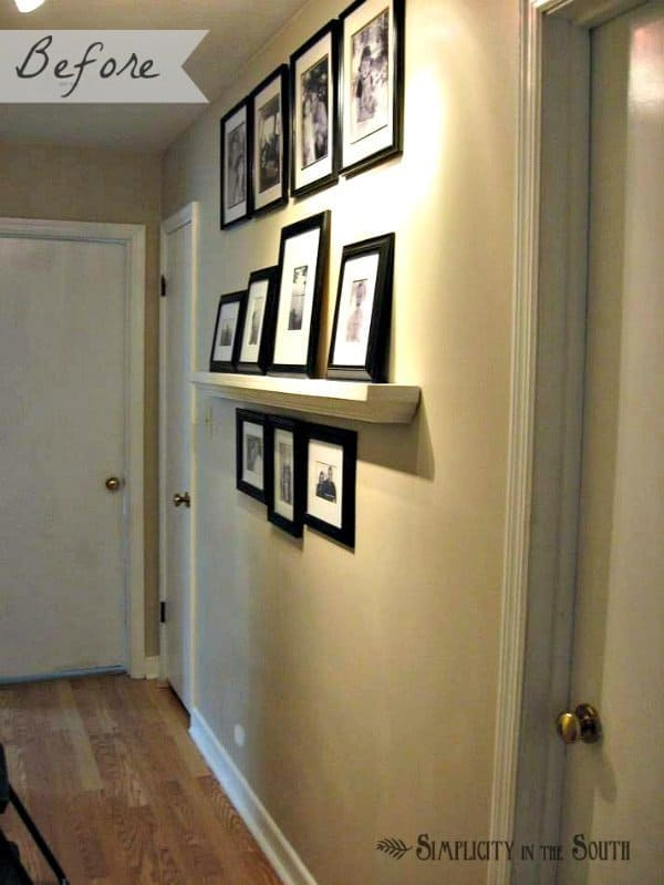 hallway before picture