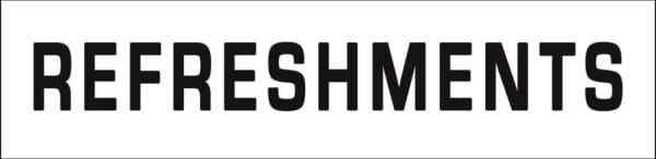 REFRESHMENTS SIGN PRINTABLE