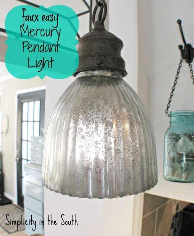 mercury light pendant