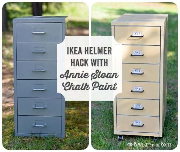 Ikea Helmer cabinet hack with ASCP in Arles.