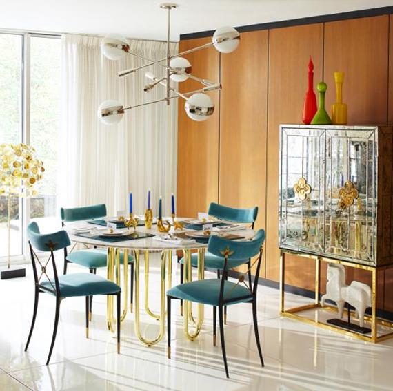 Friday Find Delphine Mirrored Bar By Jonathan Adler
