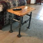 39 Diy End Table Ideas Built With Industrial Pipe Simplified Building