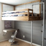 40 Diy Loft Bed Ideas Built With Industrial Pipe Simplified Building