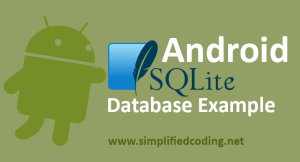 android sqlite database example