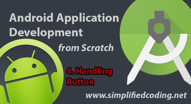 Android Onclicklistener Handling Button In Android Studio