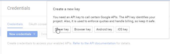 serverk key