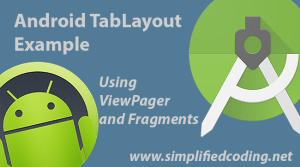 android tablayout example