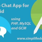create chat app for android