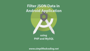 filter json android example