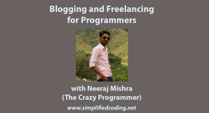 blogging and freelancing