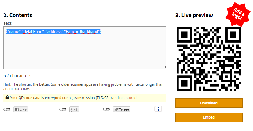 Android QR Code Scanner Tutorial using Zxing Library