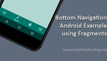 Android Navigation Drawer Example using Fragments