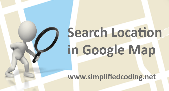 How to Search Location in Google Map in Android?