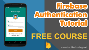 firebase authentication tutorial