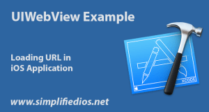 UIWebView Example to Load URL in iOS using Swift in Xcode