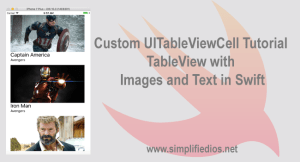 Custom UITableViewCell Tutorial