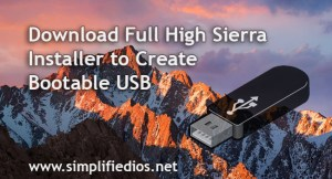 Download Full High Sierra Installer