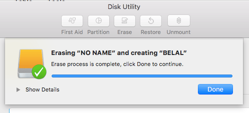 how to format usb on mac