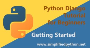 python django tutorial for beginners