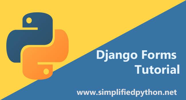 Django Forms Example - Generating Forms with Django Form Class