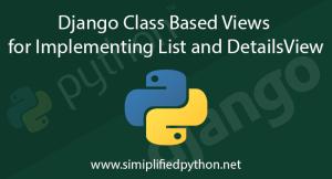 django class based views