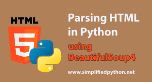 Parsing HTML in Python using BeautifulSoup4 Tutorial