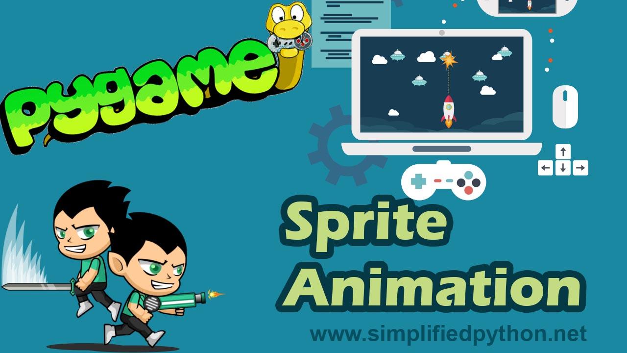 PyGame Sprite Animation Tutorial - Simple Walk Loop