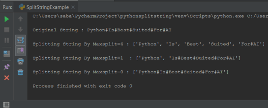 Python Split String By Character