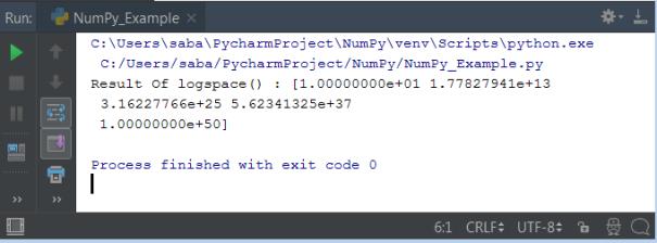 Python NumPy
