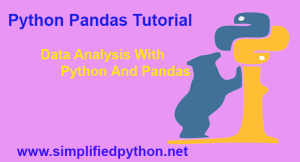 Python Pandas Tutorial – Data Analysis With Python And Pandas