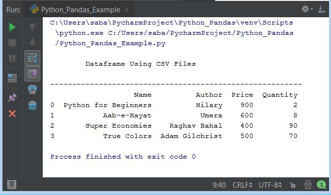 Python Pandas Tutorial